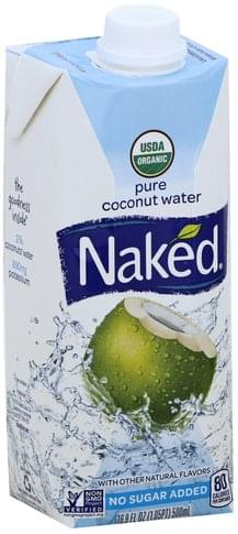 Naked Pure Coconut Water - 16.9 oz