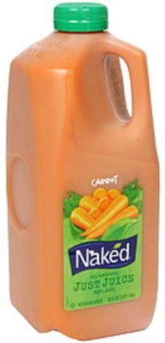 Naked All Natural Just Juice Carrot