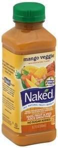 Naked 100% Fruit & Veg Juice Smoothie Mango Veggie