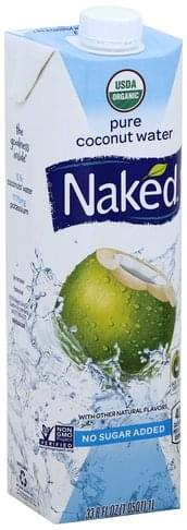 Naked Pure Coconut Water - 33.8 oz