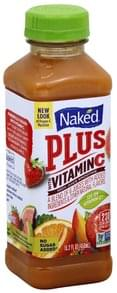 Naked 100% Juice Smoothie Plus with Vitamin C