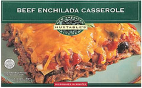 Huxtables New American Kitchen Microwave Entree Beef Enchilada Casserole