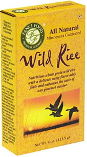 Fanci Food Wild Rice - 4 oz