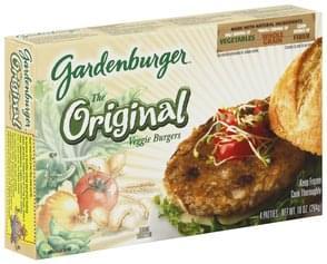 Gardenburger Veggie Burgers The Original