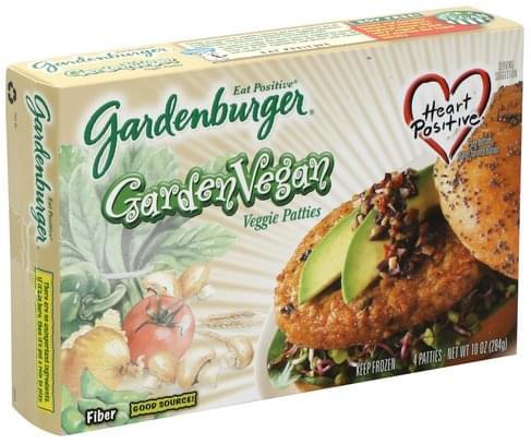 Gardenburger Garden Vegan Burgers - 4 ea