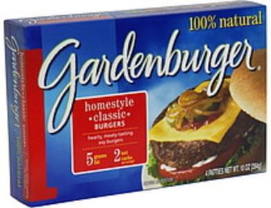 Gardenburger Homestyle Classic Burgers