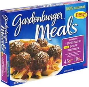Gardenburger Meatless Meatballs with Penne Marinara