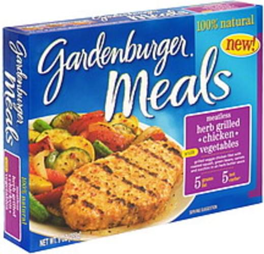 Gardenburger with Vegetables Meatless Herb Grilled Chicken - 9 oz
