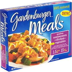 Gardenburger Meatless Southwestern Chicken with Vegetables