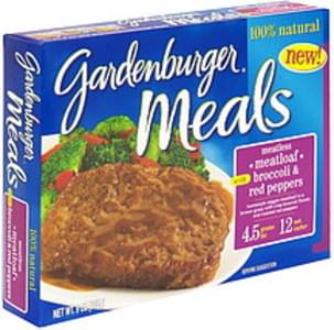 Gardenburger Meatless Meatloaf with Broccoli & Red Peppers