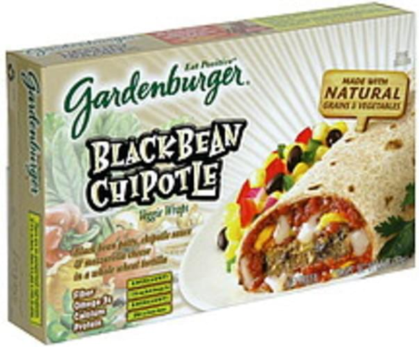 Gardenburger Black Bean Chipotle Veggie Wraps - 2 ea
