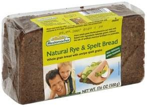 Mestemacher Bread Natural Rye & Spelt