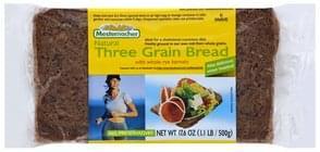 Mestemacher Bread Natural, Three Grain
