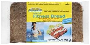 Mestemacher Bread Natural Fitness