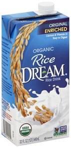 Rice Dream Rice Drink Organic, Original Enriched