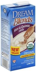 Dream Blends Rice & Quinoa Drink Original, Unsweetened