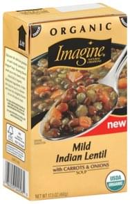 Imagine Soup Mild Indian Lentil