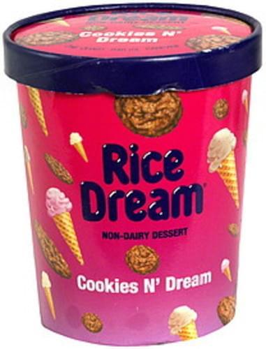 Rice Dream Cookies N' Cream Non-Dairy Dessert - 1 QT