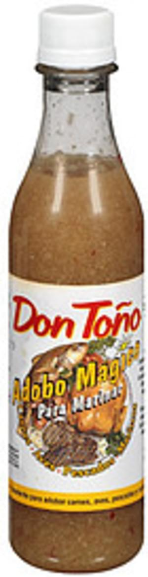 Don Tono Seasoning For Meat, Poultry & Seafood Sauce - 12 oz