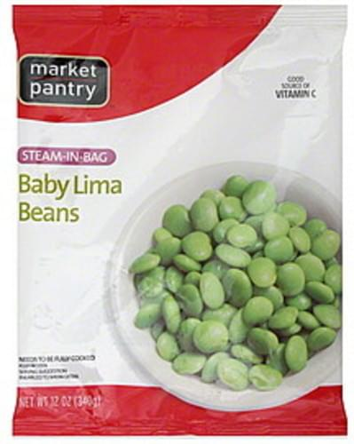 Market Pantry Steam-in-Bag Baby Lima Beans - 12 oz