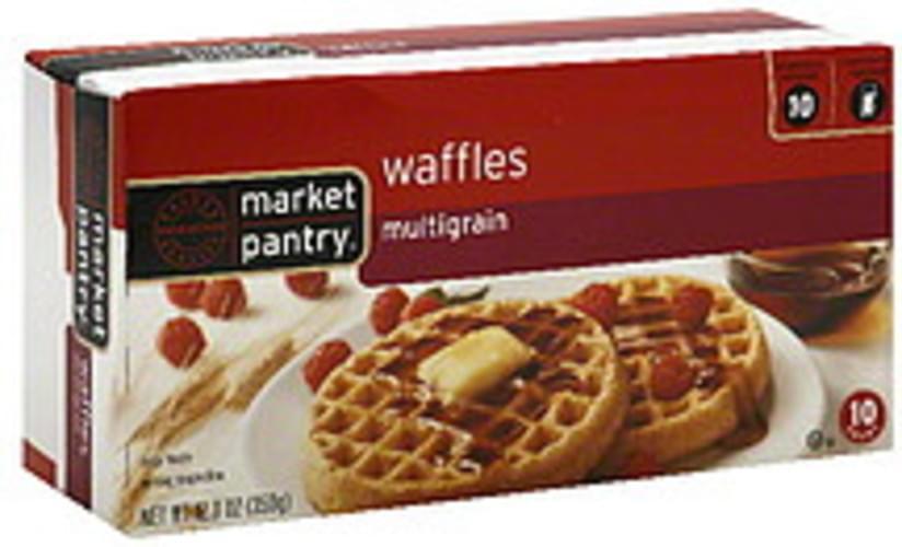 Market Pantry Multigrain Waffles - 10 ea