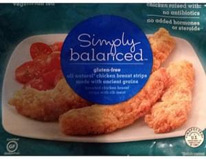 Simply Balanced Chicken Breast Strips Gluten-Free