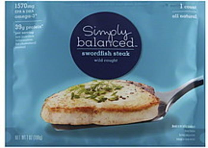 Simply Balanced Swordfish Steak - 1 ea