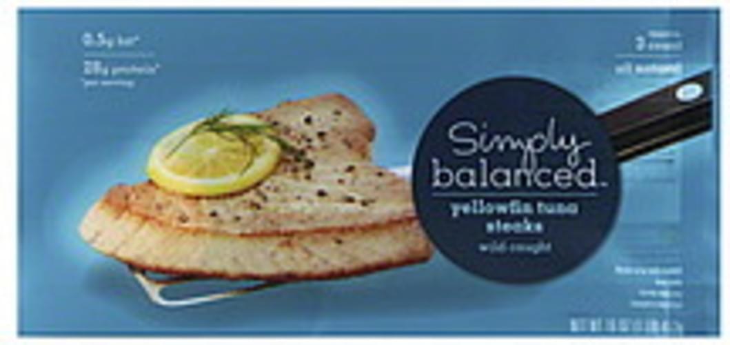 Simply Balanced Yellowfin Tuna Steaks - 16 oz