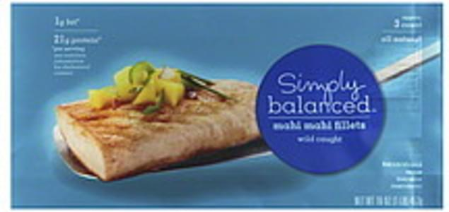 Simply Balanced Mahi Mahi Fillets