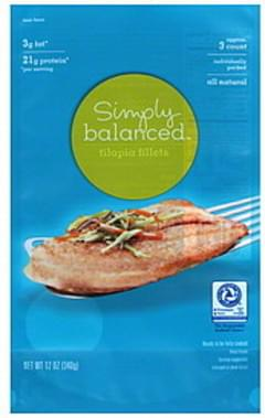 Simply Balanced Tilapia Fillets