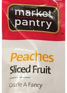 Market Pantry Sliced Peaches