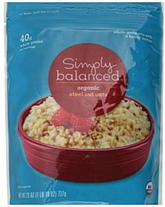 Simply Balanced Oats Organic, Steel Cut