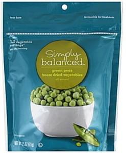 Simply Balanced Green Peas Freeze Dried
