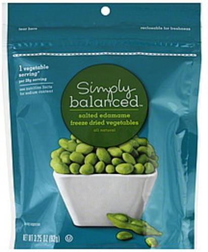 Simply Balanced Freeze Dried Salted Edamame - 3.25 oz