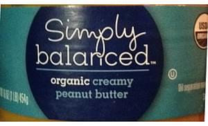 Simply Balanced Organic Creamy Peanut Butter