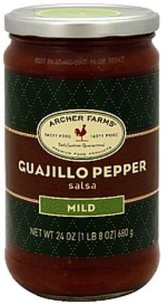 Archer Farms Salsa Guajillo Pepper, Mild