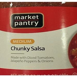 Market Pantry Medium Chunky Salsa