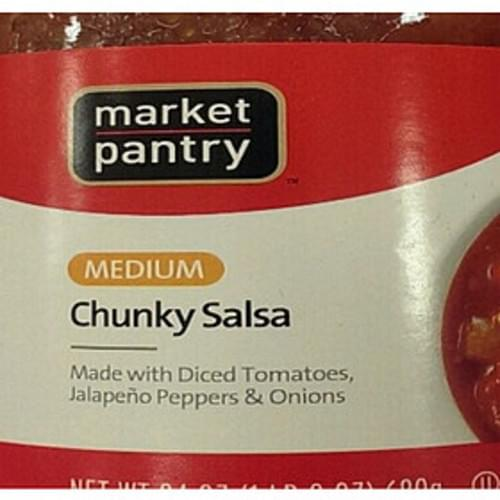Market Pantry Medium Chunky Salsa - 30 g