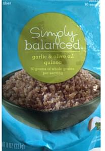 Simply Balanced Garlic & Olive Oil Quinoa