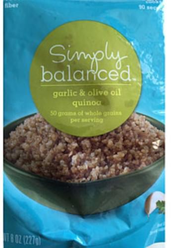 Simply Balanced Garlic & Olive Oil Quinoa - 120 g