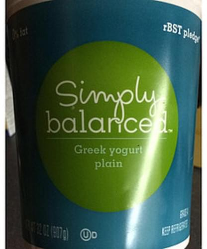 Simply Balanced Plain Greek Yogurt - 227 g