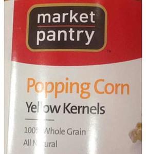 Market Pantry Popping Corn Yellow Kernels