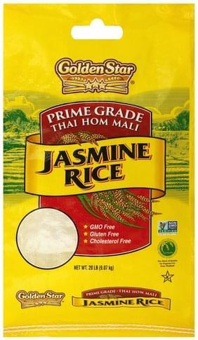 Golden Star Jasmine Rice 20 Lb Nutrition Information Innit
