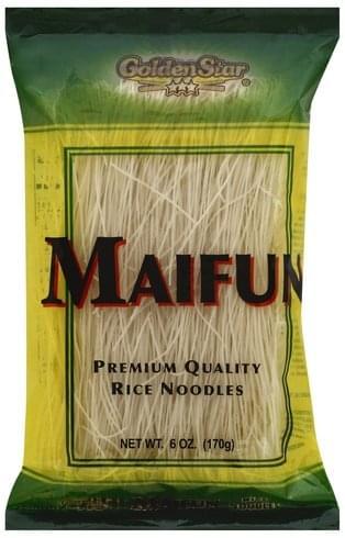 Golden Star Premium Quality Rice Noodles - 6 oz