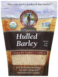 Grain Place Foods Hulled Barley Organic