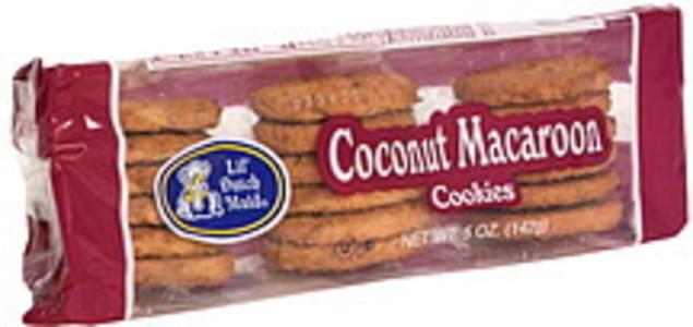 Lil Dutch Maid Coconut Macaroon Cookies, Pre-Priced