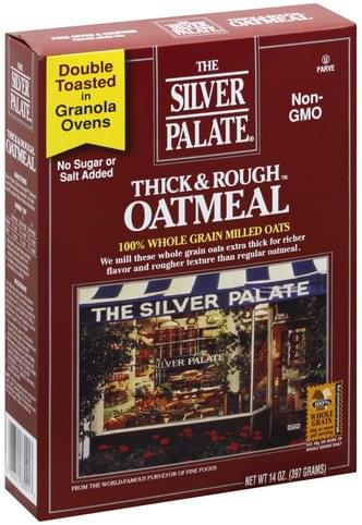 Silver Palate Thick & Rough Oatmeal - 14 oz