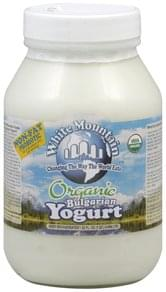 White Mountain Yogurt Bulgarian, Non-Fat Probiotic