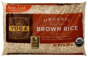 Yoga Brown Rice Organic, Long Grain