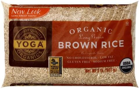 Yoga Organic, Long Grain Brown Rice - 2 lb